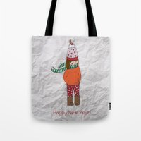 New Year Girl!  Tote Bag