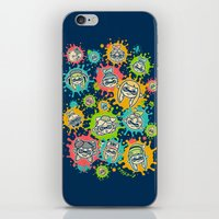 Splat Festival iPhone & iPod Skin