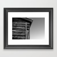 Corner Pieces Framed Art Print