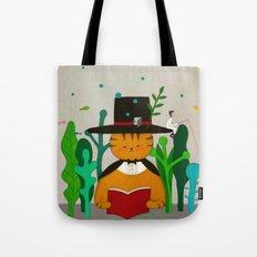 Wizard Cat Tote Bag