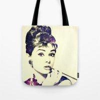 Cosmic Audrey Tote Bag