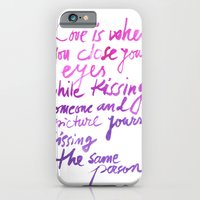 Love Quotes iPhone 6 Slim Case