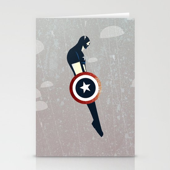 Freedom Fall Stationery Card