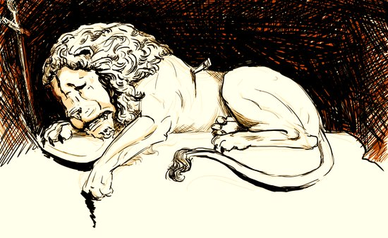 Comic Art: Brave Soul Art Print