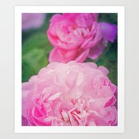 The World Smelled of Roses Art Print