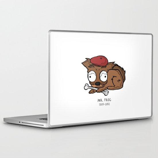 frog dog Laptop & iPad Skin