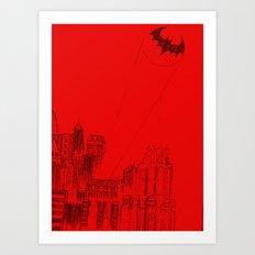 Gotham Art Print