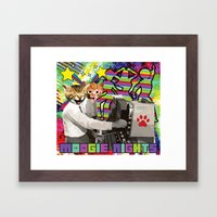 Moogie Nights Framed Art Print