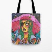 Umbrella Baby Tote Bag