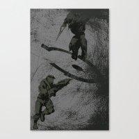 Running Riot - Halo Canvas Print