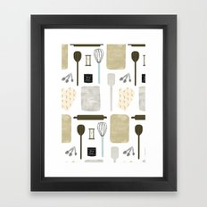 Lets Bake Framed Art Print