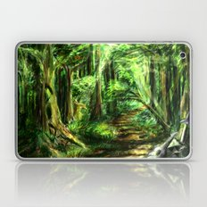The Great Gaming Forest Laptop & iPad Skin