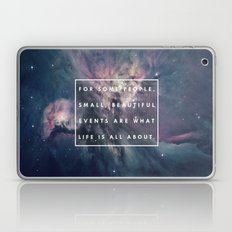 What Life Is All About - Doctor Who Laptop & iPad Skin