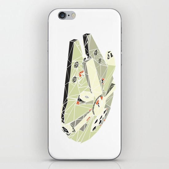The Millennium Falcon iPhone & iPod Skin