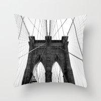 Brooklyn Web II Throw Pillow