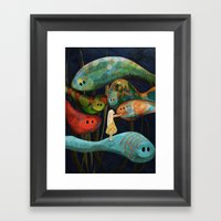 My Fascinating Friends Framed Art Print