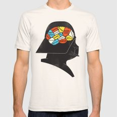 Vader Phrenology Mens Fitted Tee Natural SMALL