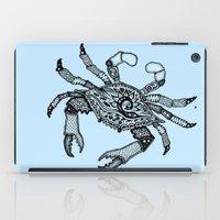 Crab Three iPad Case