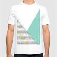 MINIMAL COMPLEXITY Mens Fitted Tee White SMALL