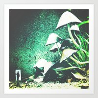 FUNGUS AMONG US Art Print