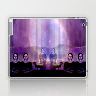 Laptop & iPad Skin featuring In The Land Of Mirrors by Ninamelusina