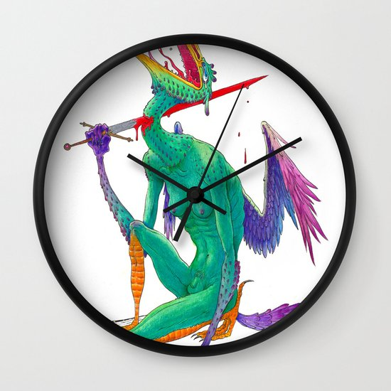 Self Sacrifice Wall Clock