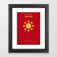 No113-1 My Iron 1 Minima… Framed Art Print