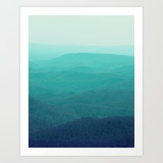 Take Me To The Mountains Art Print