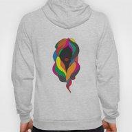 Colorful Hair Hoody