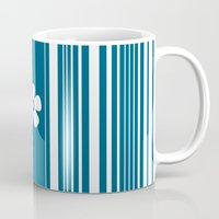 Egyptian Blue And White … Mug