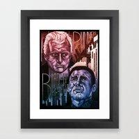 Blade Runner 30th Annive… Framed Art Print
