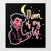Moon of My Life Canvas Print