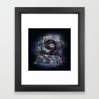 Future monkey Framed Art Print