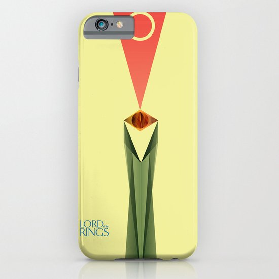 Lord of the Rings Minimal Film Poster iPhone & iPod Case