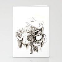 Anatomy: Study 1 Salivat… Stationery Cards