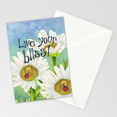 Live Your Bliss Stationery Cards