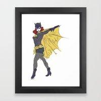 Batgirl [ Alt ] #1 Framed Art Print
