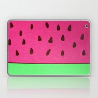 Watermelon Papercut Laptop & iPad Skin