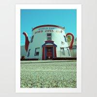 Tacoma landmark Art Print