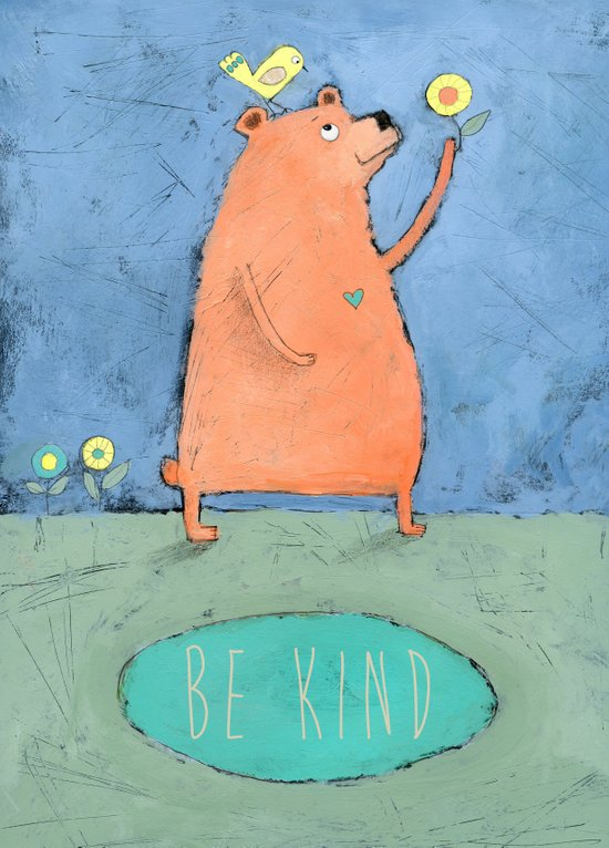 Be Kind Canvas Print