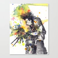Edward Scissor Hands Canvas Print