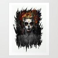 La Muerte Art Print