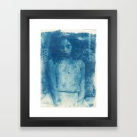 Icequeen Framed Art Print