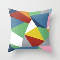 Abstraction Zoom Throw Pillow