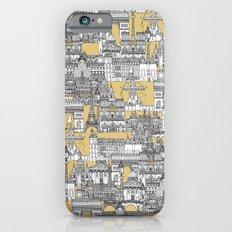 Paris toile gold Slim Case iPhone 6s