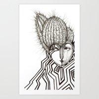 Edgy Art Print