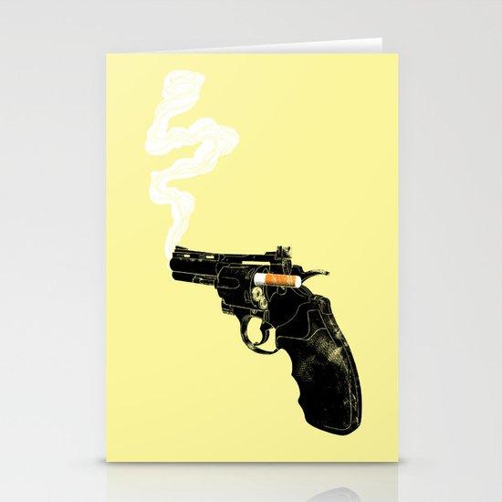 Smoking Gun Stationery Card