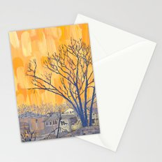 Silverbirch, north of Queen Stationery Cards