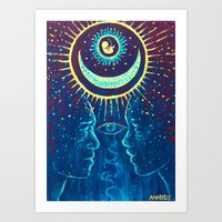 Ida Pingala Art Print