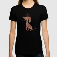 Arrogant Dog Womens Fitted Tee Black SMALL